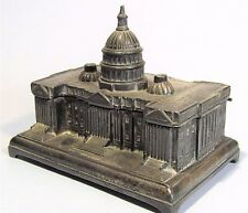 VINTAGE JENNINGS BROTHERS US CAPITOL JEWELRY TRINKET BOX METAL SOUVENIR BUILDING