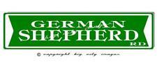 GERMAN SHEPERD DOG  ALUMINUM ST SIGN  6X24  Free shipping