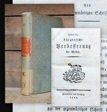 1794 Hippel Ueber die bürgerliche Verbesserung der Weiber