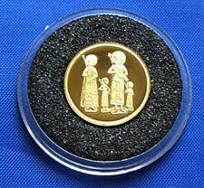 BULGARIA 20000 levs 1998, Tetraevangelia , Gold coin Au 999 COA