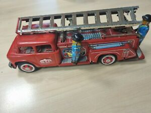 Blechspielzeug, Modellauto Feuerwehrauto