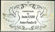 "MOZAMBIQUE 2014 ""CANONIZATION OF POPES JOHN XXIII & JOHN PAUL II"" PERF FOLDER"