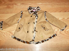 Baby Phat Faux leopard jacket or coat  3/6 month