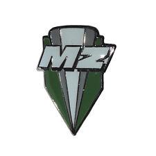 Pin Anstecknadel MZ Logo grün weiss Plakette Geschenk Stecker Motorrad Zschopau