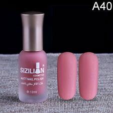 Nail Polish Scrub Non-Toxic Environmentally Friendly Matte Satin Nude 40 Color ~