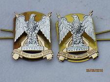 Royal Scots Dragoon Guards, RSDG,Anodised Aluminium Staybright