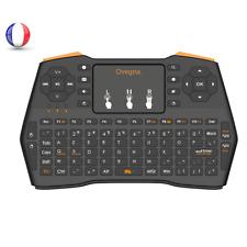 Ovegna i8 Plus : Mini Clavier (Souris, Clavier, Télécommande et Console) ,AZERTY