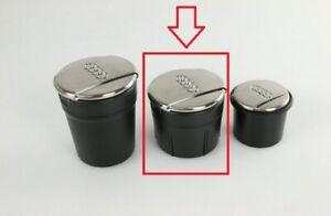 Audi Ashtray Brushed chrome Coin Storage Cup Cigarette Ashtray MEDIUM size