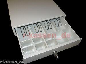 Kassenschublade, Geldlade, Öffnung per Fingerdruck , Cash Drawer R-336MW