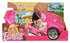 Barbie DVX59 Glam Convertible Sports, Toy Vehicle for Doll, Pink Car