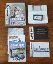 Final Fantasy Iv Advance Game Boy Advance Complete Cib Gba