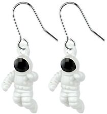 Funky Astronaut Earrings Fun and Quirky Spaceman Jewellery. UK SELLER