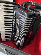 Akkordeon GUERRINI FOLK 5 Chörig 120 Bass - cassotto - Made in Italy