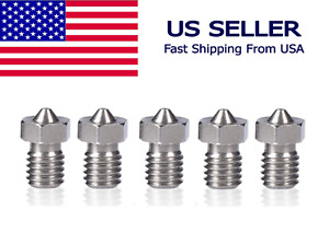 M6 Assorted Stainless Steel Nozzle Extruder Hotend 1.75mm Filament E-3D V5-V6