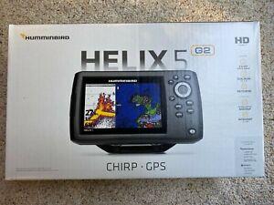 Humminbird 410210-1 Helix 5 G2 Chirp Sonar GPS Fishfinder w/ DualBeam PLUS - NEW