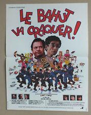AFFICHE 50 X 38 CM DU FILM LE BAHUT VA CRAQUER - 196