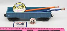 Lionel ~ Madison Hardware Set Blue Lionel gondola with pins & pencil made by Mad