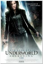 UNDERWORLD AWAKENING - 2012 Original D/S 27x40 REG Movie Poster- KATE BECKINSALE