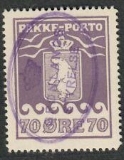 Greenland Sc#Q10 Used/EF, Parcel Post, Nice Cancel, Perf 11, Cv. $140