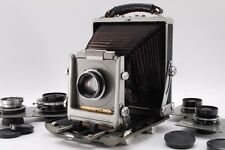 【EXC+++++】Rittreck View 5x7 Large Format Camera 125,150,180,210,250mm Lens #659