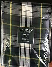 Ralph Lauren Tablecloth OBLONG RECTANGLE 60X84 MIDDLEBROOK PLAID/GREEN