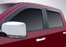 In-Channel Vent Visors for a 2009 - 2018 Dodge Ram Crew Cab