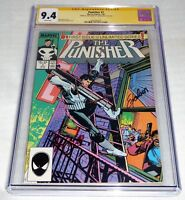 Punisher #1 CGC SS Signature Autograph STAN LEE Signed EXCELSIOR 9.4 Unlimited