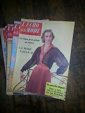 Magazine ECHO DE LA FASHION no°1 a 16 year 1956