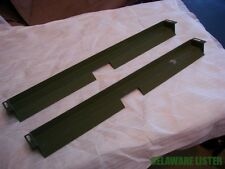 Military Truck m35 a2 m800 Heater Defroster Vent Deflector Set (Pair) NOS