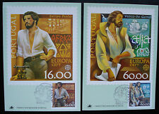 Portugal 1981: MN 1488/89,Europa CEPT, maximumcards/Maximumkarten,FDC,set of 2