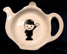 Homepride Fred Bone China Tea bag Teabag tidy teaspoon spoon holder