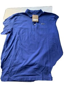 NWT PATAGONIA Men/'s Polo Short Sleeve shirts Sky Blue XL