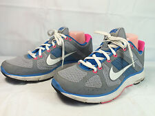 Women's Nike+ Lunar Elite (386478-012) Women's Sz 9 Running Shoe Gray Blue Pink