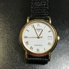 SWISS TISSOT AUTOMATIC CARSON 18K SOLID GOLD MEN'S WATCH - GORGEOUS!