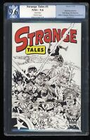 Strange Tales (2009) #1 PGX NM+ 9.6 White Pages 2nd Print!
