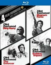 4 Film Favorites Dirty Harry 0883929343164 With Clint Eastwood Blu-ray Region a