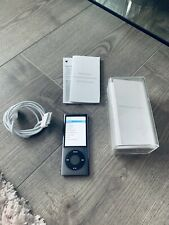 Apple iPod nano 5th Generation Black (8GB) Fantastic Condition Boxed Bundle