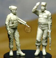 Djiti's 1/35 Afghan ANA Policeman w/French Female Soldier ISAF (2 Figures) 35031