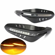 "7/8"" Motorcycle Led Turn Signal Hand Guard Brush Bar Protector Cover Dirt Bike"