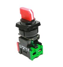 3 Position Maintained Red Selector Switch Replace SQUARE D D3G3S DA11 22mm NC NO