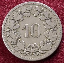Switzerland 10 Rappen 1898 (A1111)