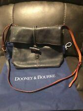 Dooney & Bourke Navy Pebbled medium toggle crossbodyn