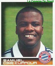 335 SAMUEL KUFFOUR GHANA FC BAYERN MÜNCHEN STICKER BUNDESLIGA 2001 PANINI