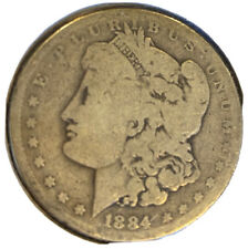 1884 $1 US Mint Morgan Silver Dollar (Lowball Candidate)