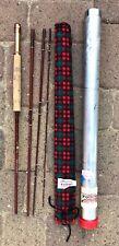 """Very Nice 4-Piece FENWICK Model FF75-4 Feralite 7'6"""" Fly Rod w/ Sleeve & Case"""