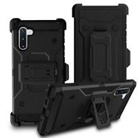 Heavy Duty Holster Hybrid Protection Belt Clip Case for Samsung Galaxy Note 10