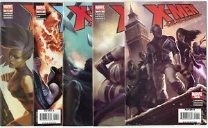 X-Men: Die by the Sword #1 - 5  Complete Set  avg. NM 9.4  Marvel  2007  No Resv