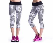 NEW Women's Nike Epic Run Printed Tight Running Capris 588681-100 Size X-Small