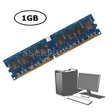 1GB DDR2-667 667Mhz PC2-5300 5300U 240-Pin Non-ECC Desktop PC DIMM Memory RAM