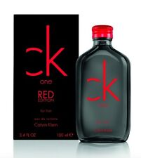 CK One Red Edition for Him 100mL EDT Spray Authentic Perfume for Men COD PayPal